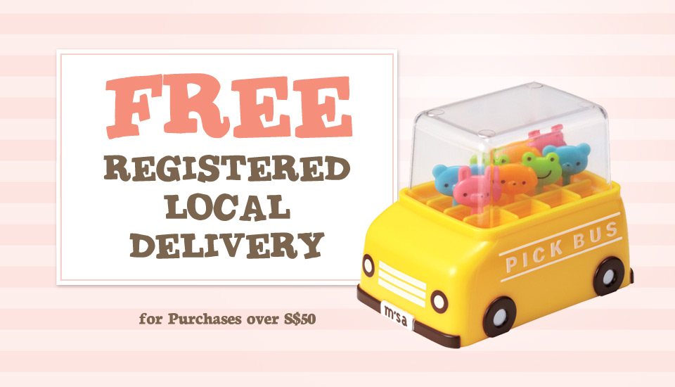 Banner 3 - Free Reg Delivery
